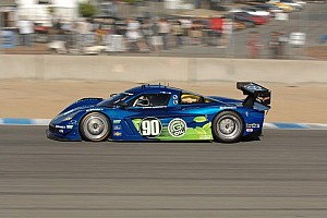 Grand-Am Qualifying report Spirit of Daytona's Westbrook nips BSR's Fogarty for the pole at Laguna Seca