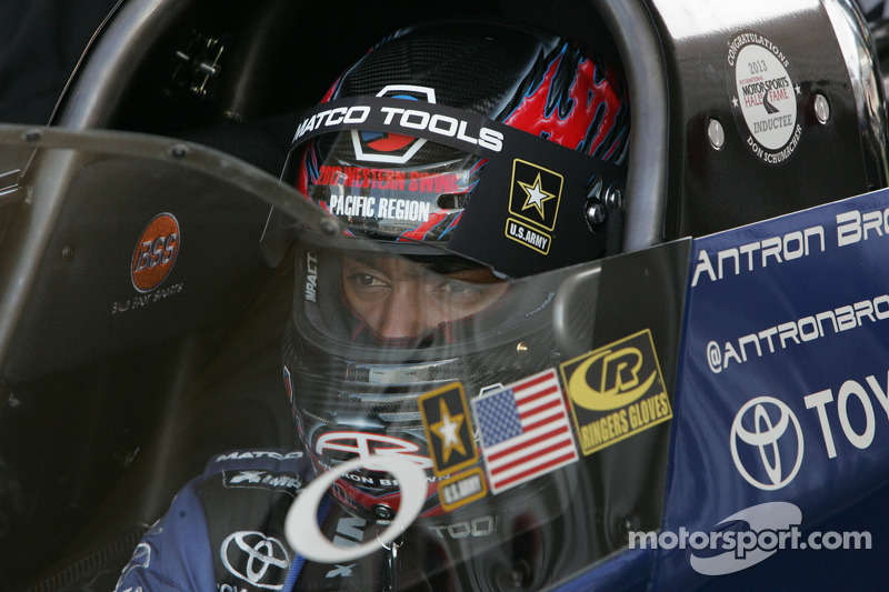 Antron Brown top seed in Top Fuel heading to Charlotte