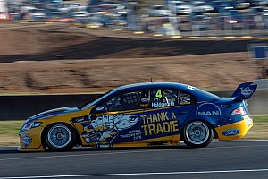 V8 Supercars Qualifying report Wild qualifying race sets up Sandown 500 for IRWIN Ford