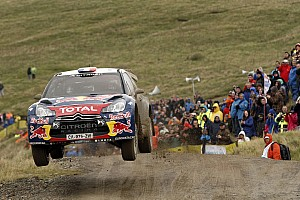WRC Leg report Citroën's Loeb and Hirvonen tighten their grip on the points at Wales Rally