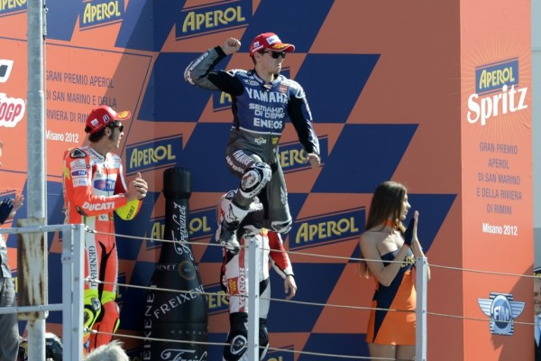 Lorenzo seals victory in drama packed Misano GP