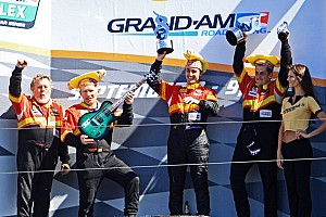 Grand-Am Race report Team Sahlen victorious at Mazda Raceway Laguna Seca