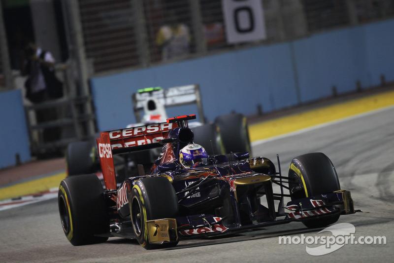 Toro Rosso has a good performance on Singapore GP