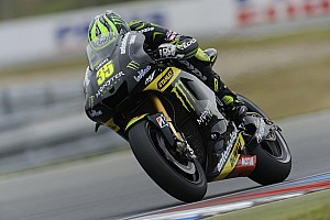 MotoGP Qualifying report Crutchlow clinches front row at Motorland Aragon