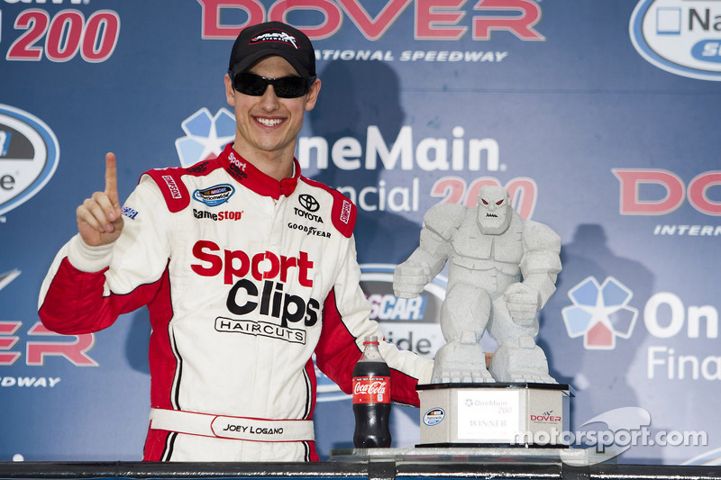 Logano cops Dover 300 victory in JGR Toyota