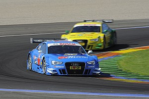 DTM Race report Audi takes lead in the DTM manufacturers' championship at Valencia