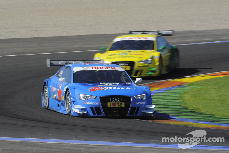 Audi takes lead in the DTM manufacturers' championship at Valencia