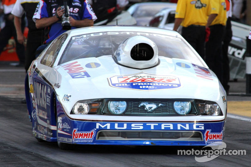 Lucas Oil's Morgan hopes to make a move at Maple Grove Raceway