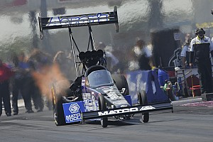 NHRA Breaking news Rain forces DSR's Brown and Beckman to wait until Monday at Reading