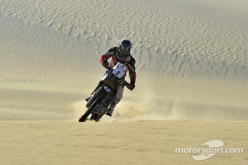 Barreda makes history for Husqvarna at  Pharaons Rally