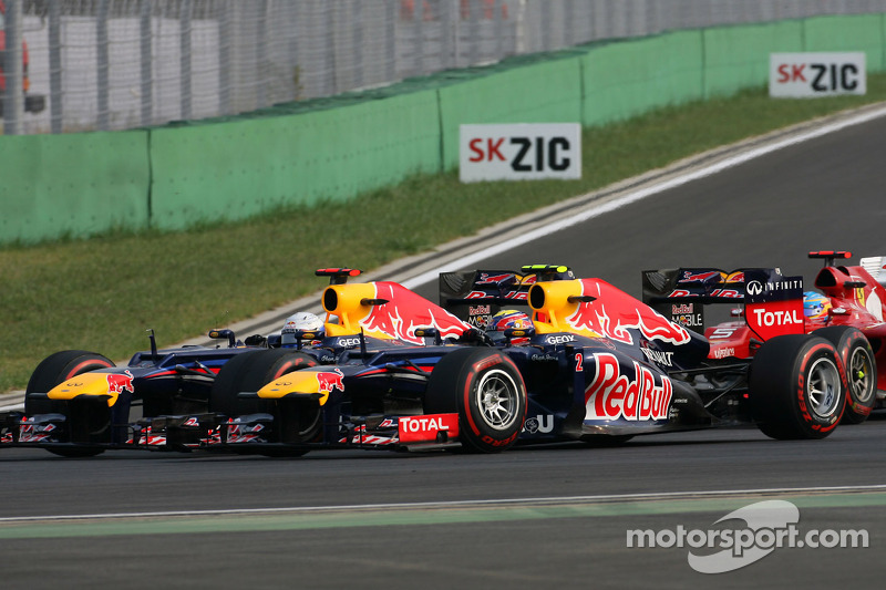 Red Bull still not imposing team orders on Webber