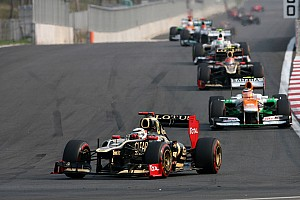 Formula 1 Race report Lotus finished in its starting positions on Korean GP