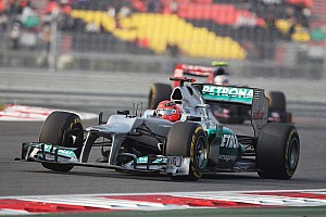 A extremely disappointing Grand Prix for Mercedes at Korea International Circuit