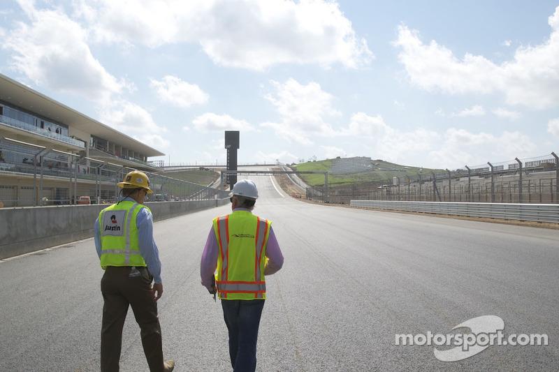Austin still working to finish 2012 US GP venue