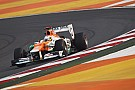 Sahara Force India was back in action on home soil at Buddh International Circuit