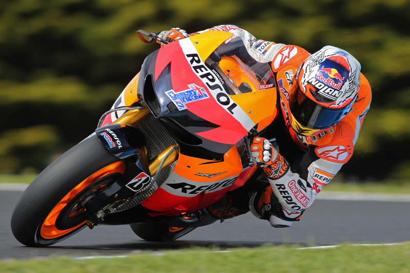 Bridgestone: Stoner seizes pole position at Phillip Island