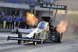 NHRA Qualifying report Schumacher, Line, Pedregon, Krawiec claim  No. 1 qualifying postions at Las Vegas
