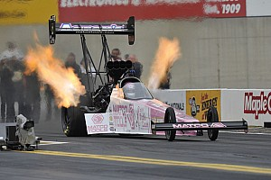 NHRA Qualifying report Antron Brown saving best for Sunday at Las Vegas