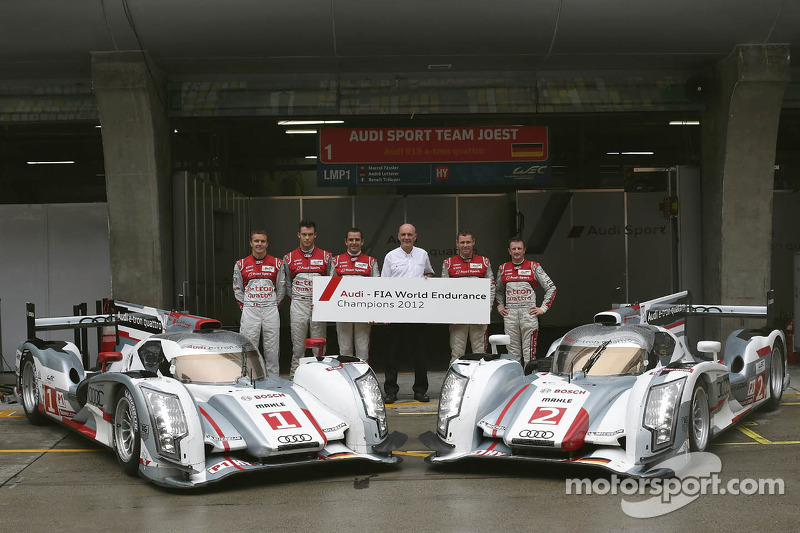 Interesting facts about the Audi World Champions trio