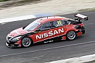 Todd Kelly takes Nissan Altima on track for its first shakedown