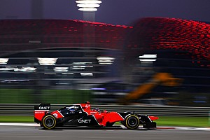 Formula 1 Practice report  A reasonable start for Marussia on the Abu Dhabi GP