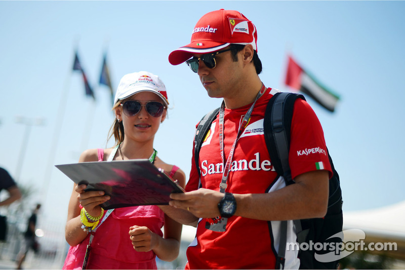 With new form and contract, Massa 'relieved'