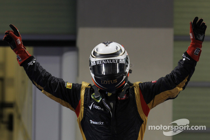 Räikkönen has taken his 19th GP victory in Abu Dhabi