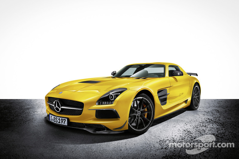 The new Mercedes-Benz SLS AMG Coupé Black Series