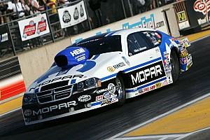 NHRA Qualifying report Johnson is No. 2 in Friday Pro Stock qualifying at Pomona Finale