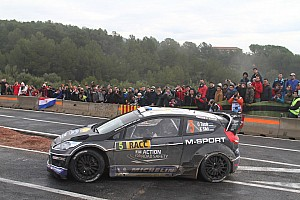 WRC Leg report Tanak's pace goes unrewarded in Spain