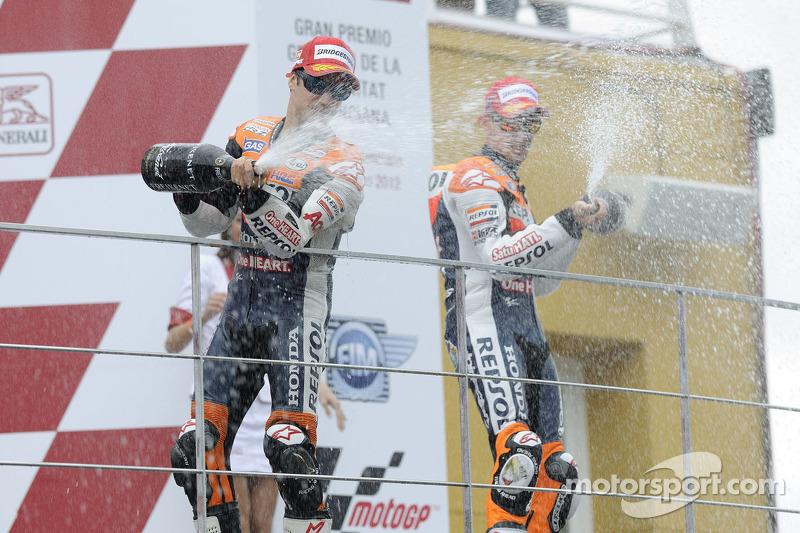 Repsol Honda rider Pedrosa wins season finale in Valencia