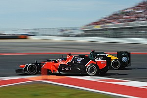 Formula 1 Race report A tough race for Marussia at Circuit of The Americas