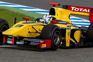 GP2 Testing report Ericsson tops Jerez first day of post-season testing