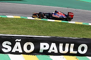 Quite a tough Friday practice for Toro Rosso at Interlagos