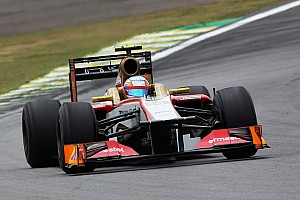 Formula 1 Qualifying report Karthikeyan start the Brazilian GP ahead of De la Rosa