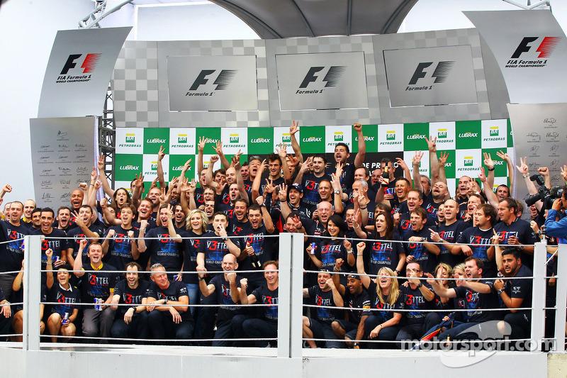 Red Bull to spend millions on staff title bonus