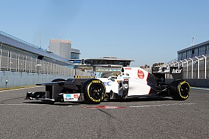 Formula 1 Breaking news Sauber looks ahead to first test of 2013