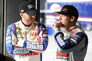 Earnhardt Jr. on Charlotte testing day 1: Camber is a big deal on the Chevrolet SS