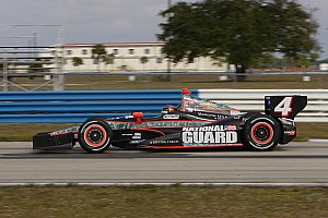 IndyCar Testing report Hildebrand, Panther return to track with two-day Sebring testing