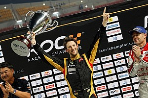 Formula 1 Special feature Lotus proud of Grosjean's victory in 2012 Race of Champions held in Thailand