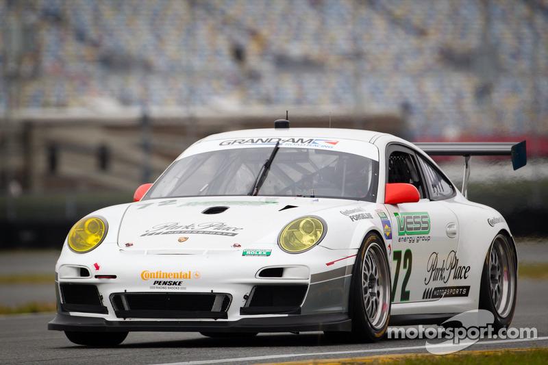 Park Place Motorsports off to roaring start in Daytona 24H testing