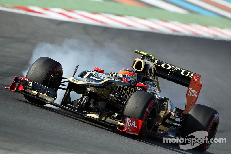 Lotus to launch new car in late January - Grosjean