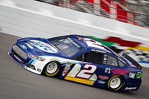 Keselowski would like to have been faster on first day of Daytona testing