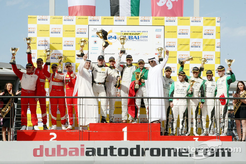 Al Qubaisi, 24h Dubai winner was overwhelmed by emotions