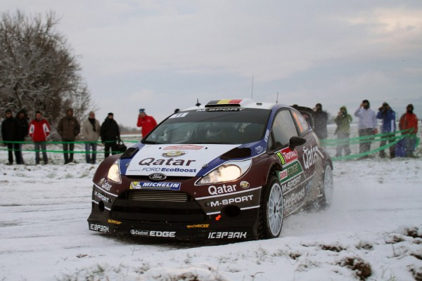 Neuville fastest on Rallye Monte Carlo shakedown