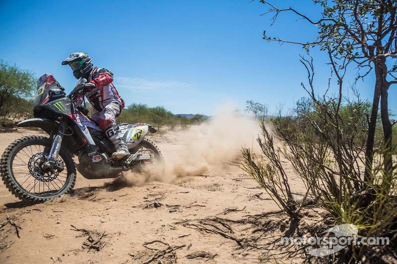 Goncalves takes second in Dakar's 11th stage