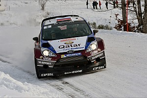 WRC Leg report Qatar M-Sport stars make their mark on day 2 of Rallye Monte Carlo