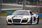 WeatherTech Racing Audi R8 qualifies sixth for Rolex 24 at Daytona