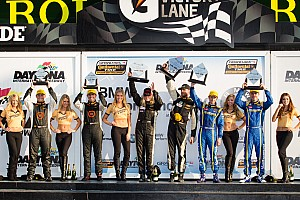 Grand-Am Race report Johnson, Roush Jr. won again at SCC BMW Performance 200 in Daytona
