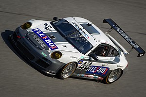 Grand-Am Race report Five Porsches in the GT top-10 in Rolex 24 at Daytona